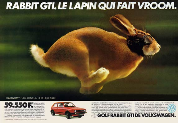 Joe La Pompe Advertising Publicit 233 Volkswagen Bring Us
