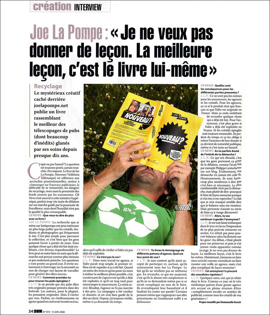 Article_CBNews_Nouveau