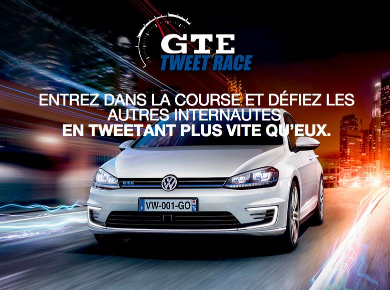GTE Tweet Race