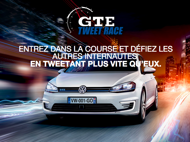 GTE Tweet Race