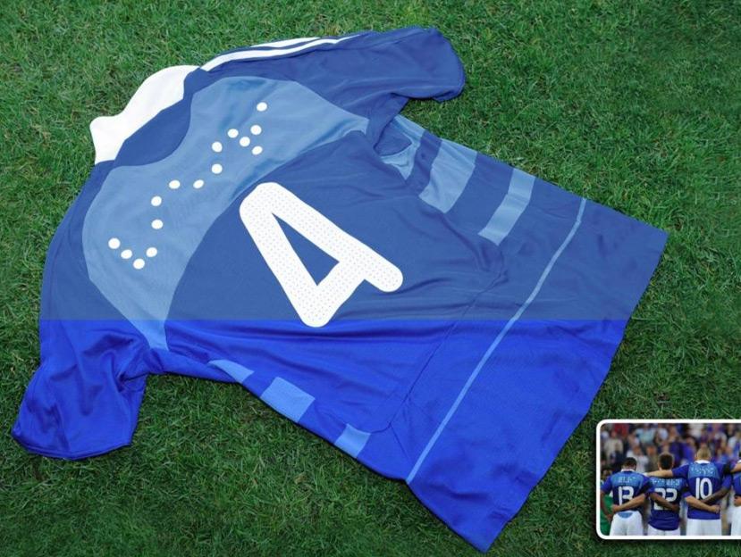 check out ebaed 960c7 Joe La Pompe advertising, publicité - Braille alphabet ...