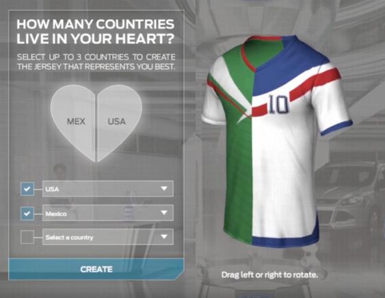 be66afe66 mixed soccer jerseys   Une idée à moitié originale