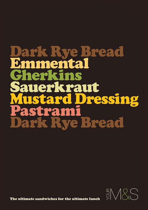 List of ingredients for a sandwich / Big Mic Mac?